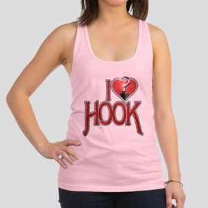 I Heart Hook Racerback Tank Top