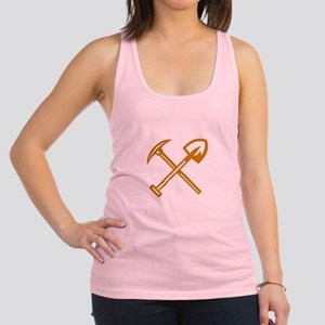 Pick Axe Shovel Crossed Retro Tank Top