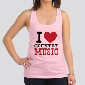 Country Music Racerback Tank Top