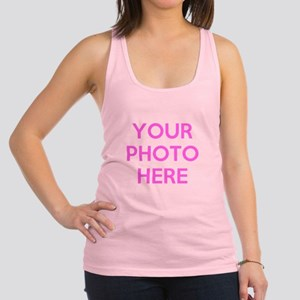 Customize photos Racerback Tank Top