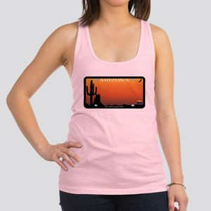 Arizona State License Plate Racerback Tank Top