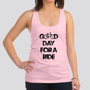 Good Day For A Ride Racerback Tank Top