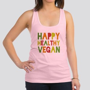 Happy Vegan Racerback Tank Top