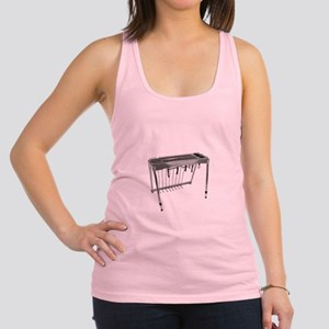 Man Of Steel Pedal Steel Guitar Racerback Tank Top