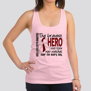 Bravest Hero I Knew Head and Neck Cancer Racerback