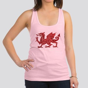 Welsh Red Dragon Racerback Tank Top