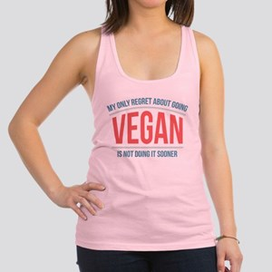 Vegan Regrets Racerback Tank Top