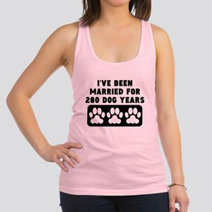 40th Anniversary Dog Years Racerback Tank Top