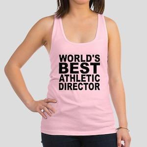 Worlds Best Athletic Director Racerback Tank Top