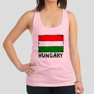 Hungary Flag Racerback Tank Top