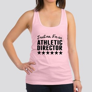 Trust Me Im An Athletic Director Racerback Tank To