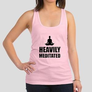 Heavily Meditated Racerback Tank Top