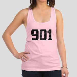 901 Memphis Area Code Racerback Tank Top