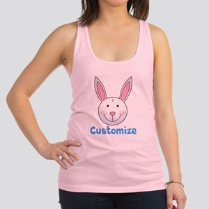 Custom Easter Bunny Racerback Tank Top