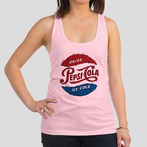 Pepsi Logo Doodle Racerback Tank Top