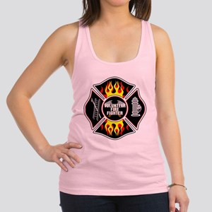 Volunteer Firefighter Racerback Tank Top