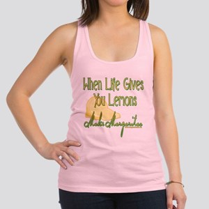 MAKEMARGARITASupdated copy Racerback Tank Top