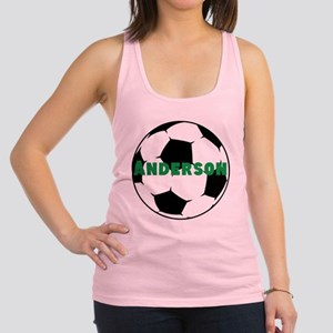 Personalized Soccer Ball Racerback Tank Top