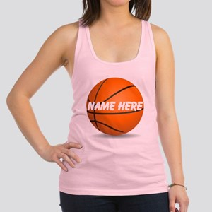 Personalized Basketball Ball Racerback Tank Top