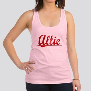 Allie, Vintage Red Racerback Tank Top