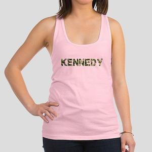 Kennedy, Vintage Camo, Racerback Tank Top