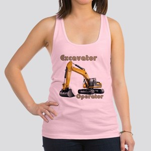 The Excavator Racerback Tank Top