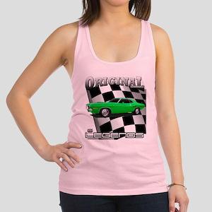 Musclecar 1970 Top 100 Racerback Tank Top