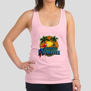 Hawaiian Sunset Racerback Tank Top