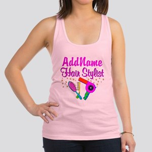 1ST PLACE STYLIST Racerback Tank Top