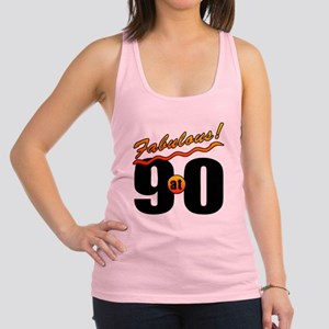 Fabulous At 90 Racerback Tank Top