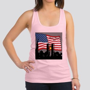Never Forget 9-11 Racerback Tank Top