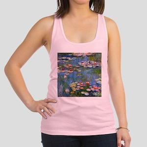 Monet Water lilies Racerback Tank Top