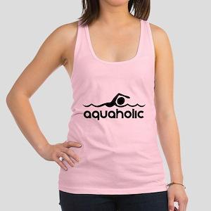 Aquaholic Racerback Tank Top