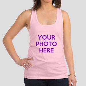 Customize photos Racerback Tank Top