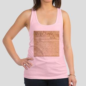 US CONSTITUTION Racerback Tank Top