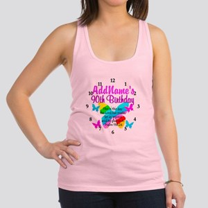 BLESSED 90TH Racerback Tank Top
