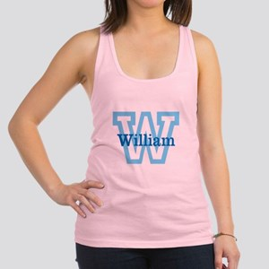 CUSTOM First Initial and Name Racerback Tank Top
