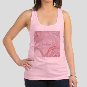 pastel pink swirls Racerback Tank Top