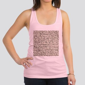 Ancient Manuscript Tank Top
