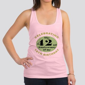 Funny 60th Birthday Racerback Tank Top