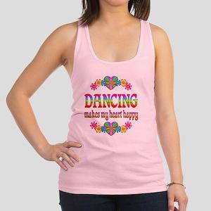 DANCING Racerback Tank Top
