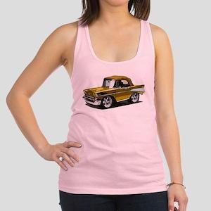 BabyAmericanMuscleCar_57BelR_Gold Racerback Tank T
