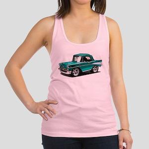 BabyAmericanMuscleCar_57BelR_Green Racerback Tank