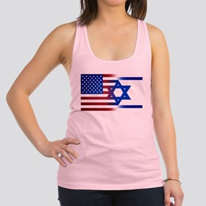America stands with Israel Racerback Tank Top