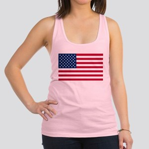 American Flag Racerback Tank Top