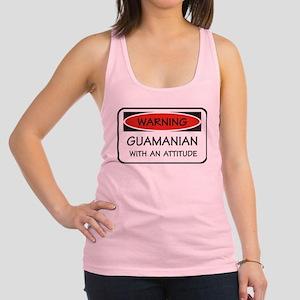 Attitude Guamanian Racerback Tank Top