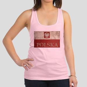 Vintage Polska Racerback Tank Top