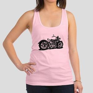 Vintage Motorcycle Racerback Tank Top