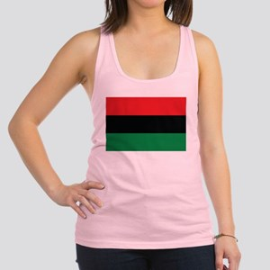 The Red, Black and Green Flag Racerback Tank Top