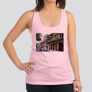 French Quarter Street Racerback Tank Top